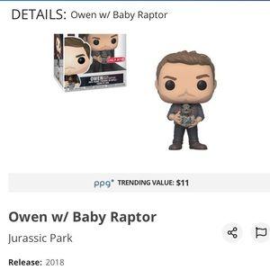 Jurassic Park Owen with raptor